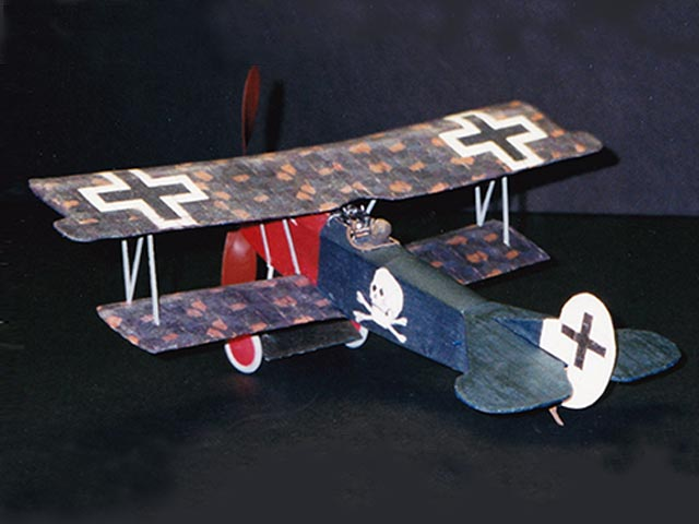 Fokker DVII (oz12120) by Dennis Norman from Air Ace Models 2002