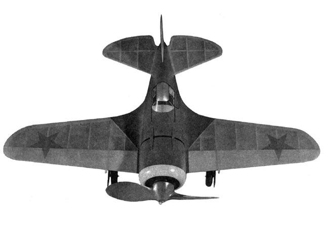 I-16 Mosca (oz1213) by HA Thomas from Air Trails 1942