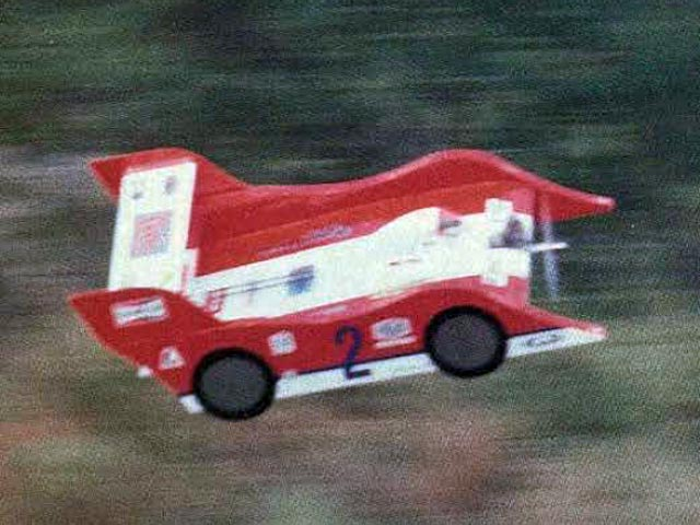 Flying Porsche - 12132