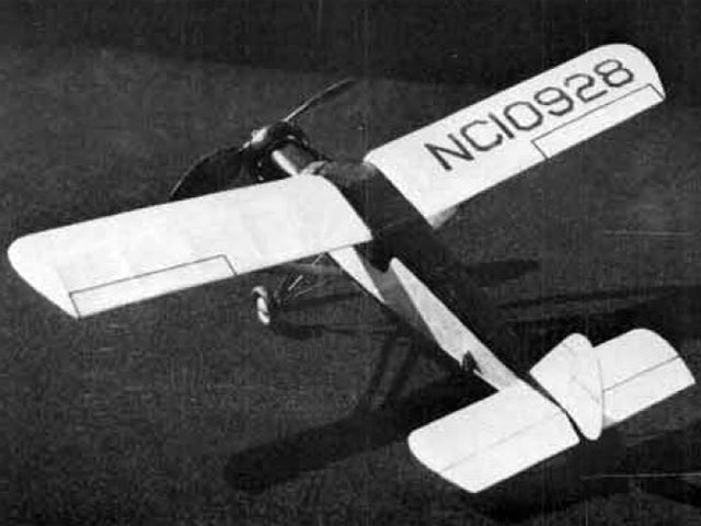 Curtiss Wright Air Sedan 15C (oz12160) by Walt Mooney from Model Builder 1987
