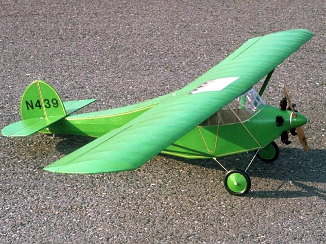 Velie Monocoupe (oz12187) by Bob Boucher from Model Builder 1978