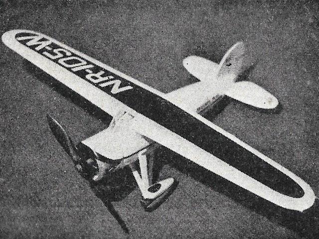 Lockheed Vega (oz12195) by PMH Lewis from Model Aircraft 1959