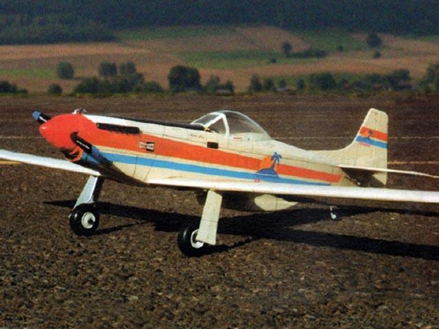 Eee-Z-Fli P-50+1 (oz12204) by Al Wheeler from Model Builder 1992