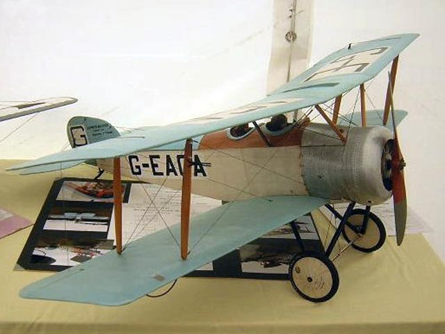Sopwith Dove (oz12234) by Michael Smith from RC Model Flyer 2003