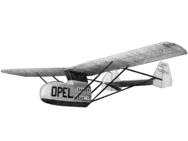Opel Sander RAK 1 - 12238