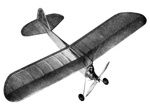 Natsneez (oz12275) by PE Norman from Aviation Adventures and Model Building 1947
