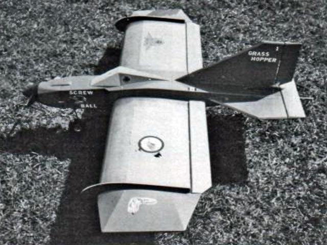 Grass Hopper (oz12299) by John Cook from Model Builder 1983