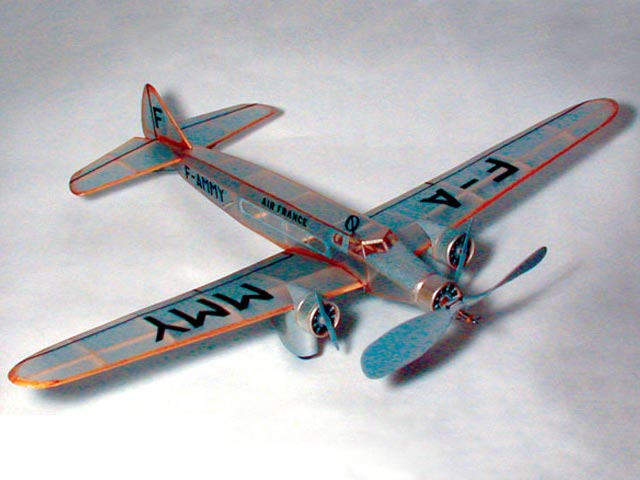 Dewoitine D332 Airliner (oz1230) by Dave Stott from Flying Models 2005