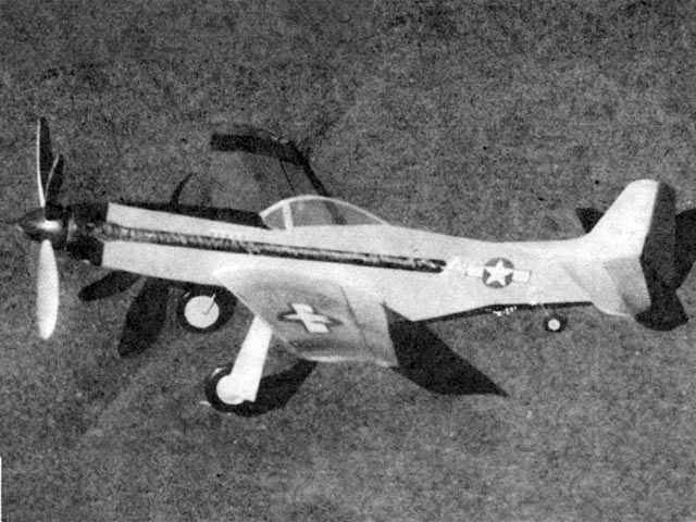 Mustang (oz12300) by RG Schmitt from Model Airplane News 1948