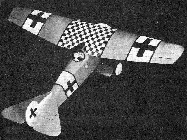 Fokker DVIII - 12319