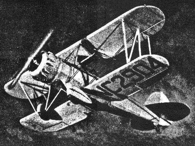 Waco Model F-3 Single Seat (oz12323) from Tomasco 1934