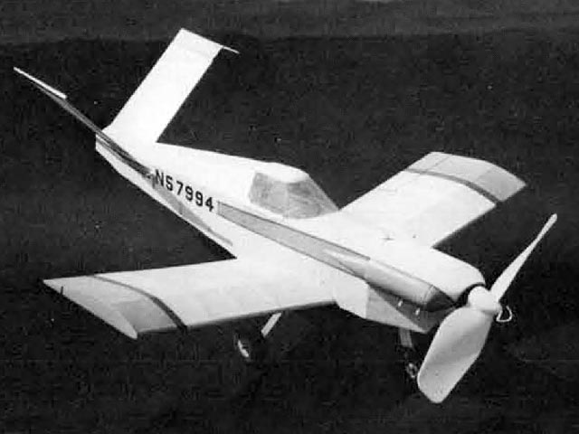 Davis DA-5A (oz12327) by Walt Mooney from Model Builder 1976