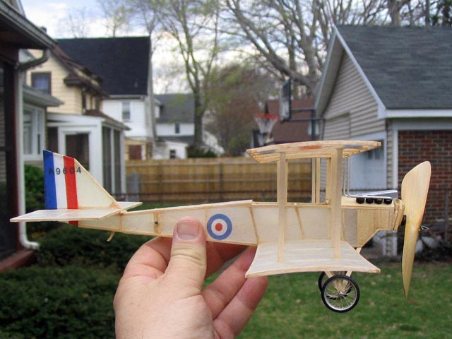 DH-6 (oz12342) by Walt Mooney from Model Builder 1974