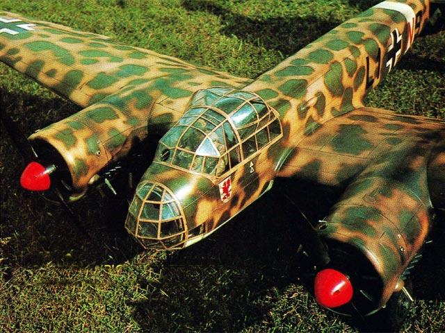 Junkers Ju 88 (oz12372) by Roy Scott from Radio Modeller 1976