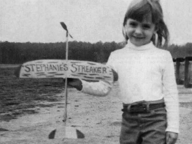 Stephanies Streaker (oz12380) by George Perryman from Model Builder 1994