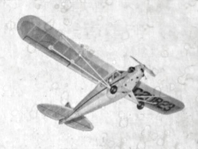 Taylor Cub (oz12387) from Veco 1951