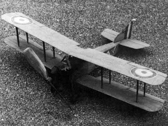 Armstrong-Whitworth F.K.8 (oz12396) by Tom Nallen from Model Builder 1989