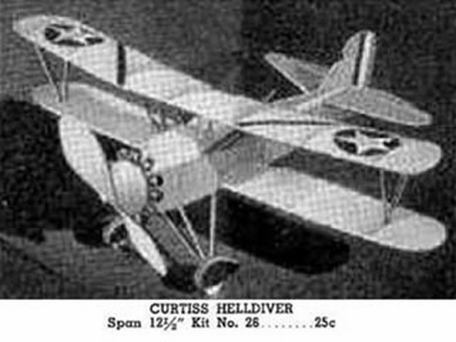 Curtiss F8C Helldiver (oz124) by Ray Chevedden from Comet 1935