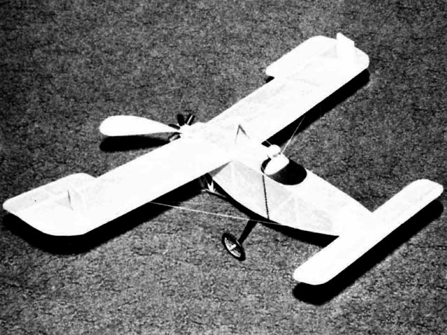 Bleriot XXV (oz12414) by WC Young from Model Builder 1973