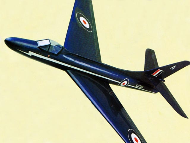 Hawker Hunter - 12447