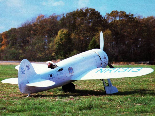 Time Flies (oz12452) by Henry Haffke from Model Airplane News 1985