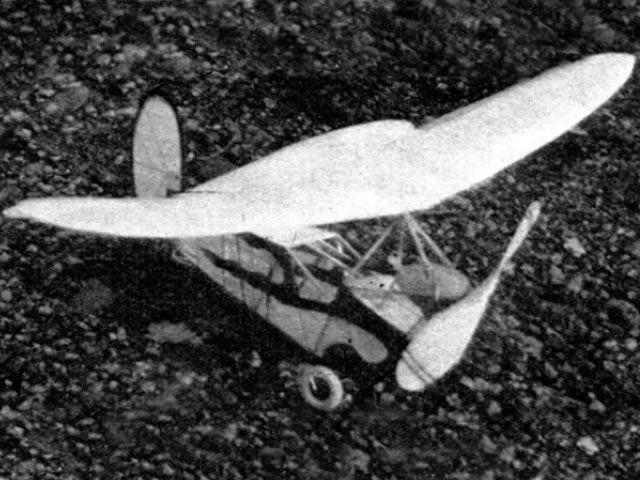 Sky Flea (oz12458) by Gordon Light from Air Trails 1936