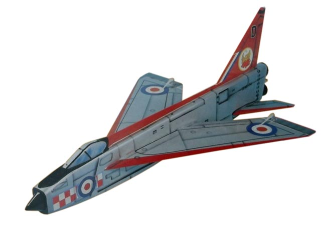 English Electric Lightning (oz12469) by Bob Petrie from Radio Modeller 1985