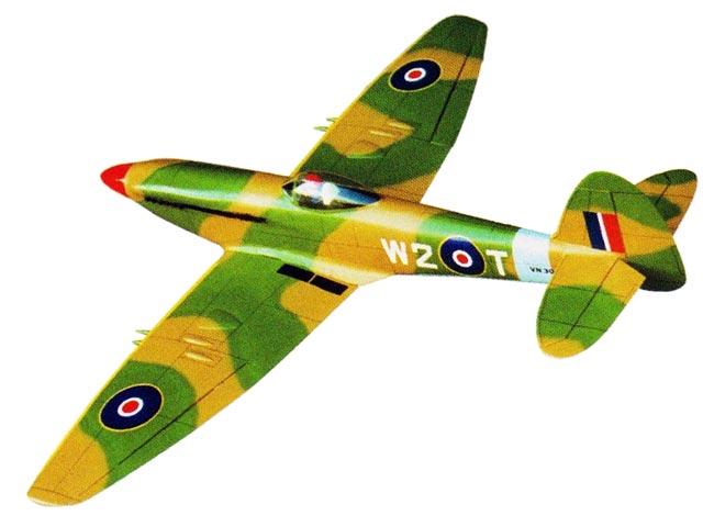 Spitfire Mk 24 - 12493