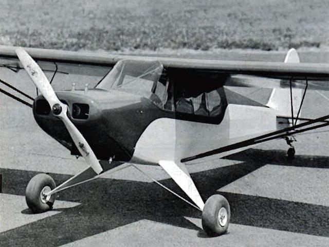 Piper PA-12 Super Cruiser (oz12510) by Bob Peru from Champion Models 1986