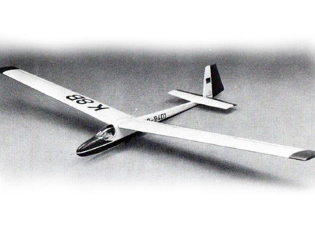 K8B (oz12513) from Graupner 1980