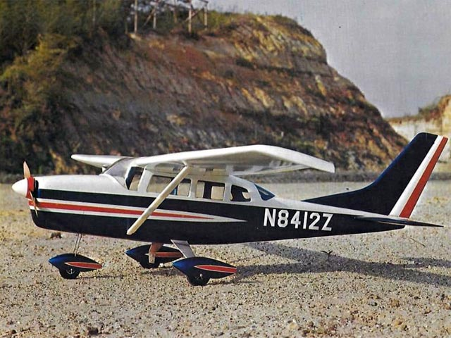 Cessna 206 Super Skywagon (oz12521) by M Kato from MK 1967