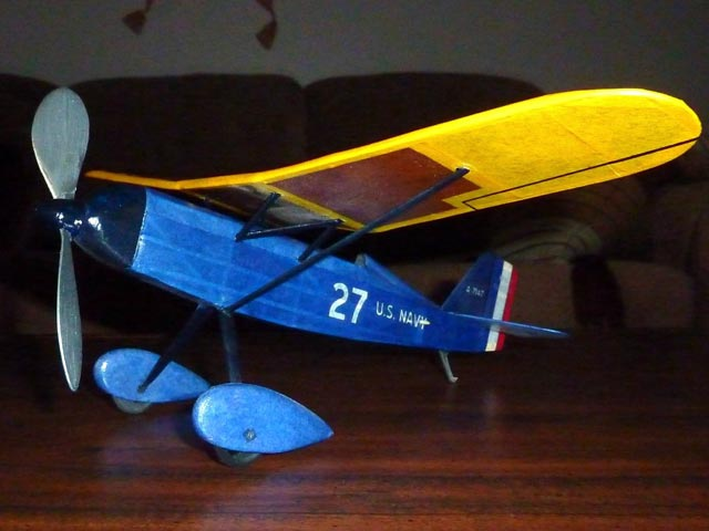 Page Navy Racer (oz12524) from Comet 1933