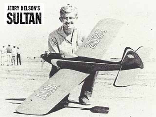 Sultan (oz1255) by Jerry Nelson from American Modeler 1963