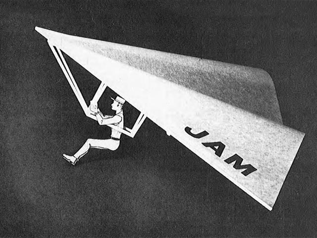 Mini Hang Glider (oz12560) by Bill Hannan from Junior American Modeler 1973