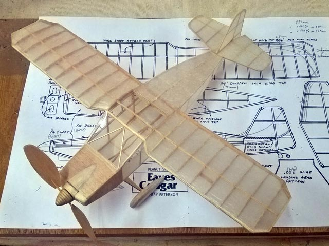 Eaves Cougar (oz12565) by Perry Peterson from Model Builder 1988