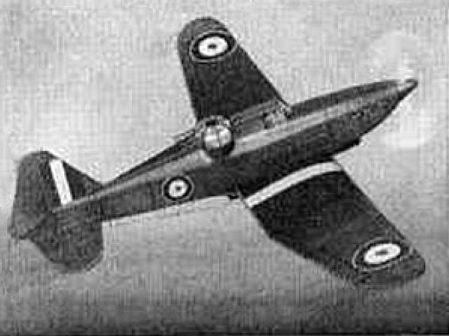 Boulton Paul Defiant (oz12572) by Joe Konefes from Comet 1941