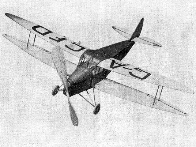 DH Hornet Moth (oz12584) from Megow 1941