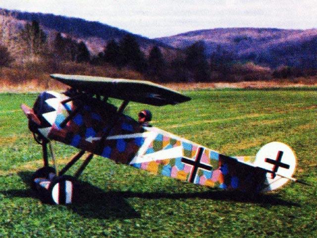 Fokker DVIII - 12585