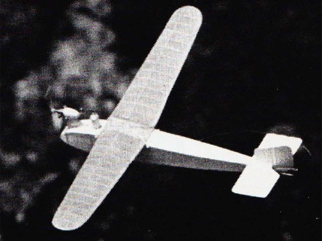 English Electric Wren (oz12589) by John Walker from Model Airplane News 1983