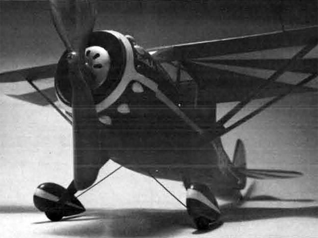 Monocoupe 110 Special (oz12601) by Butch Hadland from Model Builder 1979