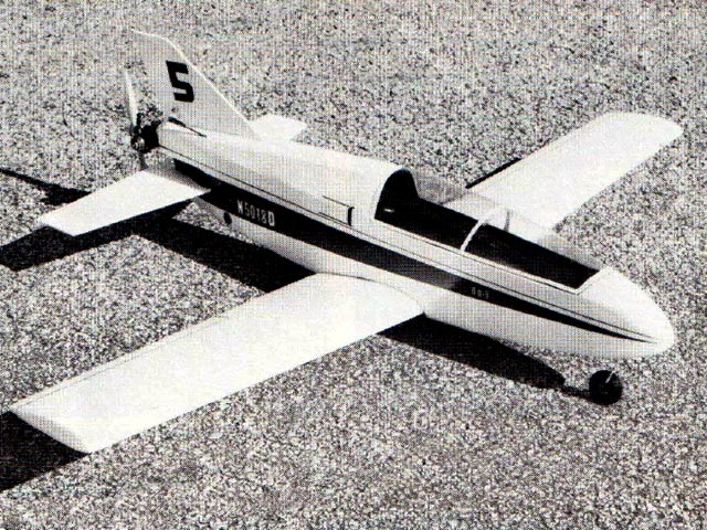 Bede BD-5 (oz12610) by Fred Reese from Model Airplane News 1975