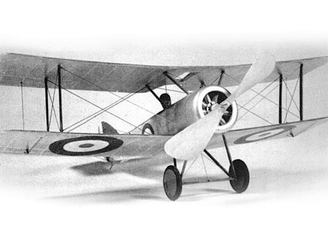 Sopwith Pup (oz12615) by John Blair from Model Builder 1978