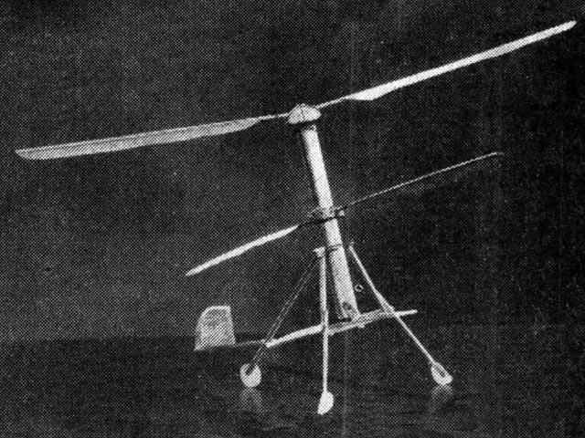 Hoppicopter (oz12632) by FG Boreham from Aeromodeller 1955