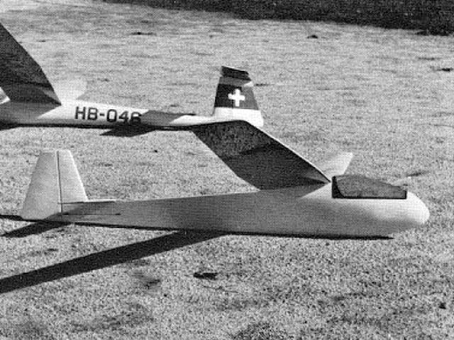 Briegleb BG-12 (oz12637) by Chris Christen from Model Builder 1973