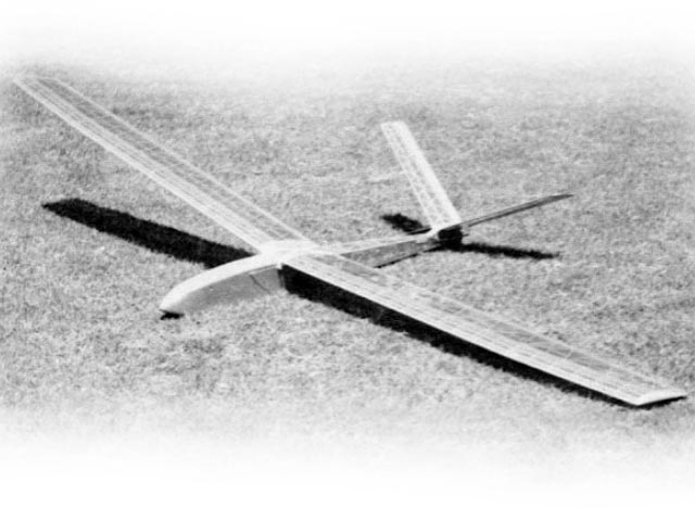 Draggin Fly (oz12653) by Duane Hyer from Model Builder 1973
