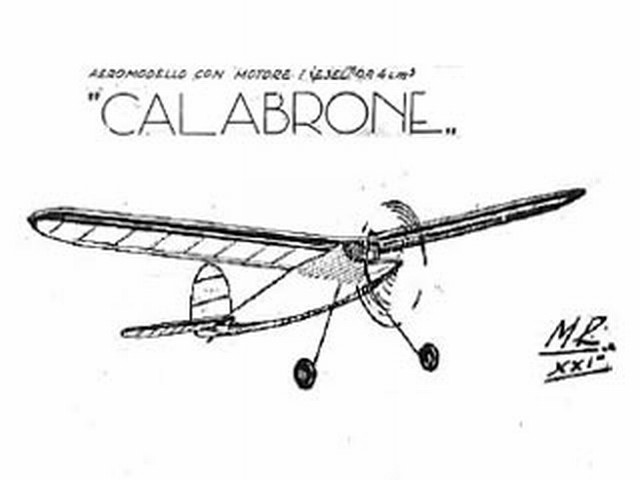 Calabrone (oz1266) from Aviominima 1943