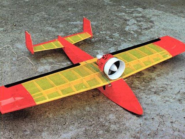 Electro Screamer (oz12670) by Don Belfort from Model Builder 1995