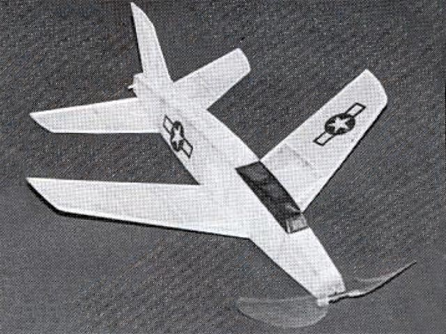 F-100  (oz12680) by Dick Baxter from Model Builder 1996