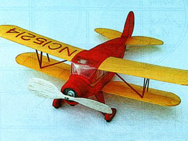Waco UKC-S (oz12684) by Stan Fink from Model Builder 1995