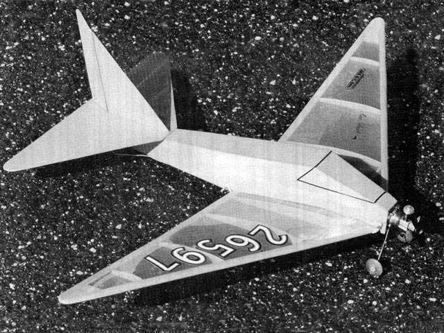 Ace Dart (oz12731) by Bernie Shulman from Model Aviation 1978